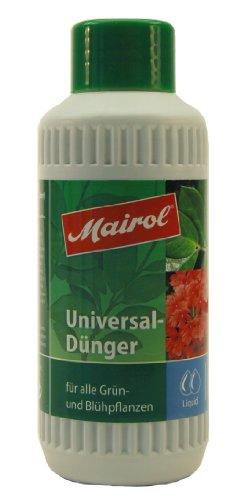 Mairol Universaldünger für alle Grün- und Blühflanzen, Liquid, 250ml