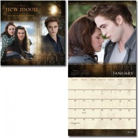 New Moon 2010 Wall Calendar (Bella and Jacob) Publisher: Trends International Corp.