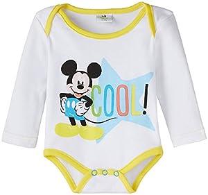 Disney Mickey Baby Boys' Romper Suit
