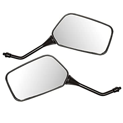 Ryde Universal 8mm Motorcycle/Scooter Mirrors - Black