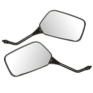 Ryde Paire de rétroviseurs universels pour moto/scooter Noir 8 mm