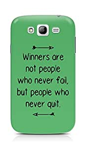 AMEZ but people who never quit Back Cover For Samsung Galaxy Grand Neo