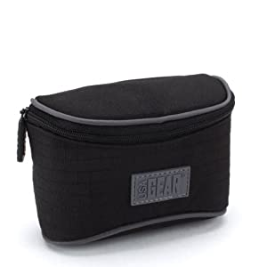 Premium Impact-Resistant Protective Digital Camera Case for Panasonic Lumix DMC SZ5 , TS20 , ZS20 and Many More Digital Cameras- Includes Mousepad