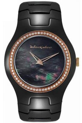 Black Dice 'Showgirl' Black Ceramic Ladies Watch - BD-051-01