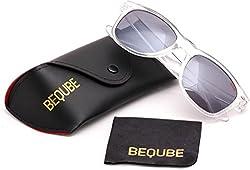 Beqube Stunning Mirror Unisex Sunglasses (Black )