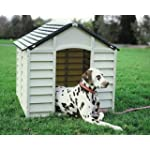 Large Heavy Duty Plastic Dog Kennel / Pet Shelter