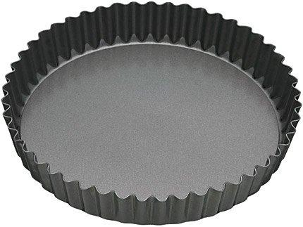Master Class Non-stick Fluted Loose Base Quiche Tin Round 25cm Cake Bakeware