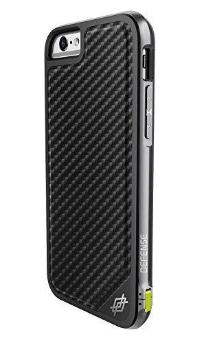 iPhone 6s Case & iPhone 6 Case, X-Doria Defense Lux, Military Grade Drop Tested Protective Case, [Black Carbon Fiber] (Carbon Iphone 6 Case compare prices)