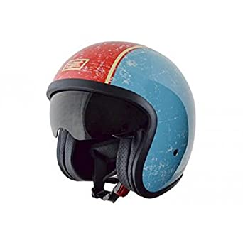 OR002143 - Casque Origine Sprint One Bleu Clair/Rouge S