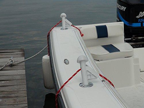 DLFender Power Boat Fender Adjuster, White (Pack of 2)