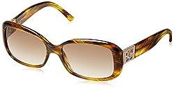 Escada Rectangular Sunglasses (Demi Brown) (SES 133|907S|57)