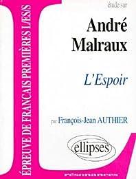 Étude sur André Malraux
