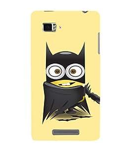 EPICCASE Superhero Minion Mobile Back Case Cover For Lenovo Vibe Z K910 (Designer Case)