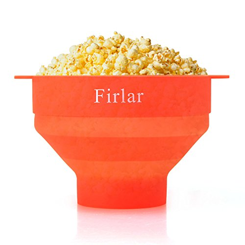 Firlar Microwave Popcorn Popper Sturdy Convenient Handles, Silicone Popcorn Maker (Kettle Hello Kitty compare prices)