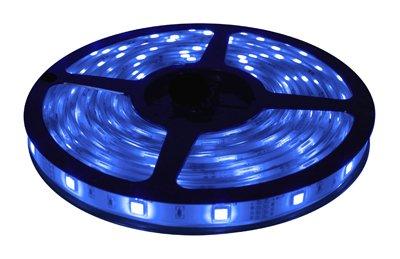 Brilliant Brand Lighting Seasonal Decoration Blue Brilliant Brandled Strip Light Smd-5050 12-Volt 16.4' Spool Waterproof Ip67
