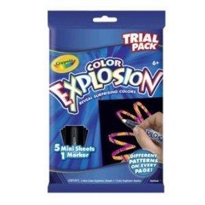 Crayola color explosion trial pack surprising colors - 1 ea - 1