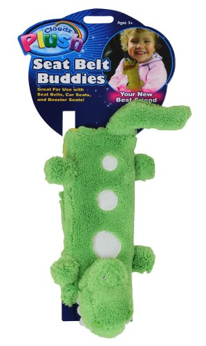 Cloudz Plush Seat Belt Buddies - Dinosaur