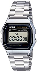 Casio Youth Digital Grey Dial Mens Watch - A158WA-1DF (D011)