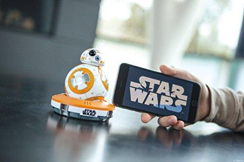BB-8スター・ウォーズ エピソード7の新キャラドロイドがアプリ連携で自宅を動きまくるぞ~!