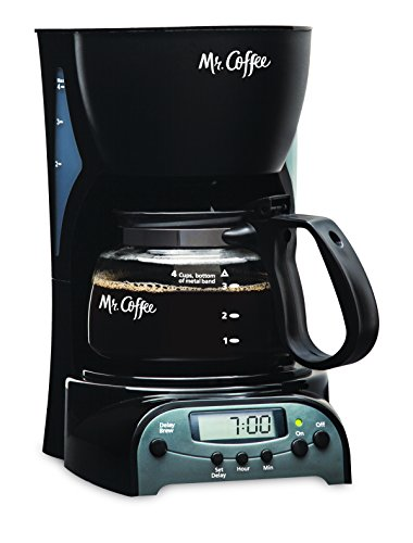 Mr. Coffee 4-Cup Programmable Coffeemaker, DRX5 (Cup Coffee Cup compare prices)
