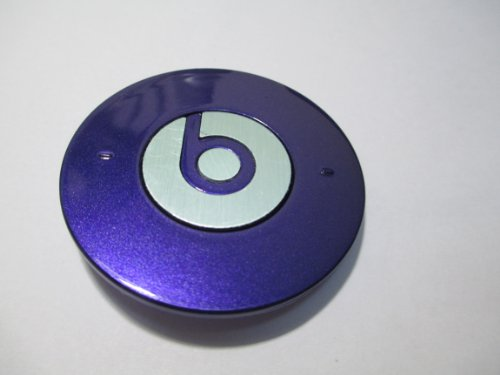 Goodies® Replacement Part Battery Cover For Monster Beats Dre Headphone Studio Purple Color