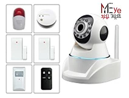 Edaxis MyEye 370 Plus Indoor PTZ P2P IP HD Camera