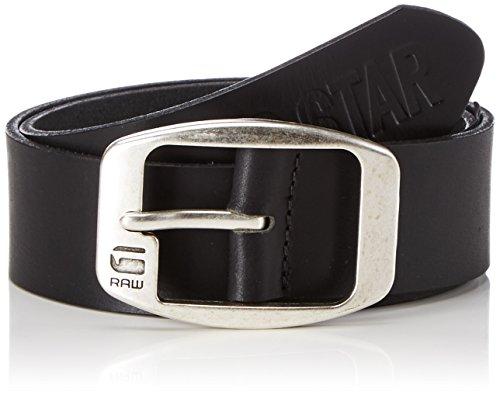 G-STAR RAW Ladd Belt-Cintura Uomo    Nero (black 990) S