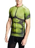 Under Armour Camiseta Manga Corta Hulk Pr Fullsuit Comp Ss (Verde)