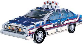 Picture of Fun Puzz 3D Police Car (B001BADKP0) (3D Puzzles)