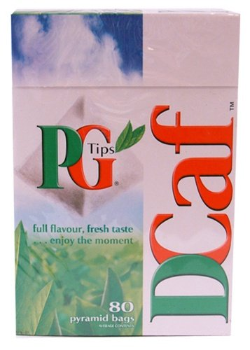 PG Tips Decaffeinated Tea (80 Tea Bags) by 