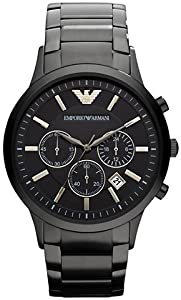 Emporio Armani AR2453 Classic Black Chronograph Mens Watch