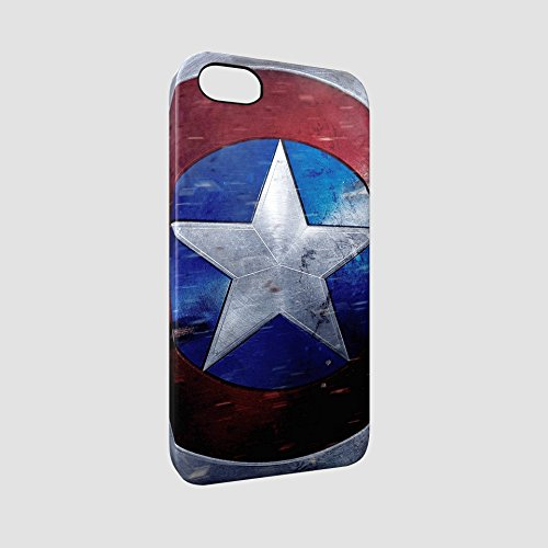 Captain America Shield Civil War Hard Snap-On Protective iPhone SE / 5S / 5 Case Cover