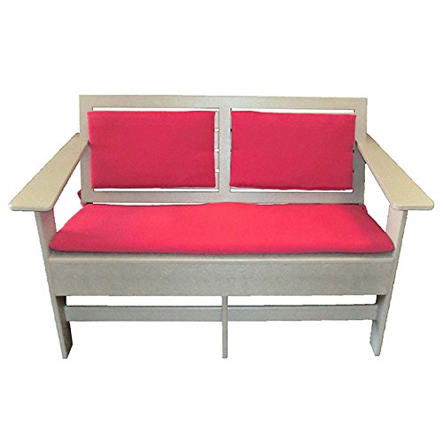"""Lounge Loveseat with Sloped Seat 48""""W"""