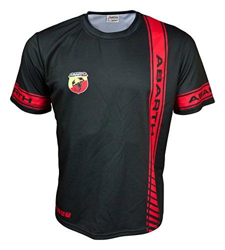 fiat-500-abarth-logo-negro-para-hombre-coche-de-carreras-graficos-cool-t-shirt
