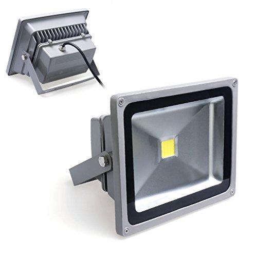 Auralum-20W-Super-Hell-230V-IP65-Wasserdicht-Grau-Kaltwei-LED-Auenstrahler-Fluter-Flutlicht