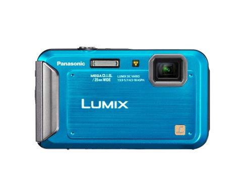 Panasonic Lumix TS20 16.1 MP TOUGH Waterproof Digital Camera with 4x Optical Zoom (Blue)