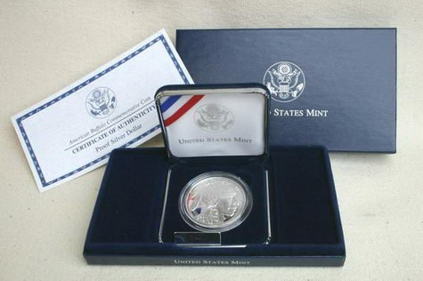 2001 Proof American Buffalo Commemorative Silver Dollar