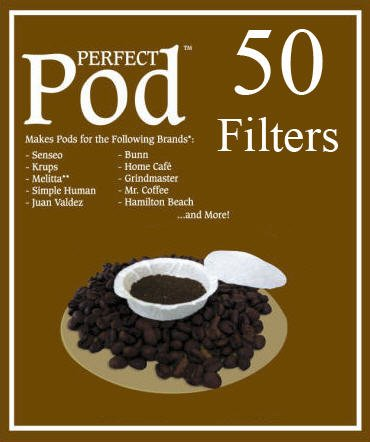 Perfect Pod Coffee Filters (50 Filters)