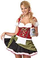 California Costumes Bavarian Bar Maid Set by California Costumes
