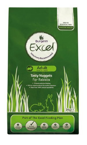 Supa Excel Rabbit Food 2Kg