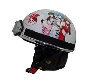 RIDEZ(ライズインターナショナル) エヴァンゲリオン RACINGヘルメット レースクイーン FREEサイズ