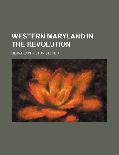 Western Maryland in the Revolution