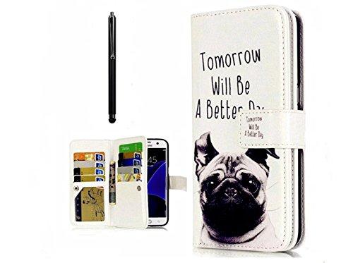 KSHOP Coque pour Samsung Galaxy A5 2016 New Version Téléphone Case Housse de portable en PU Cuir Portefeuille Case Housse Etui Intelligent Flip