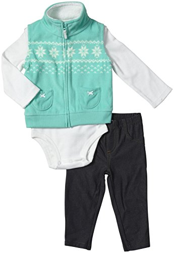 Carter'S Baby Girls' Est Set (Baby) - Turquoise - 18 Months front-1076515