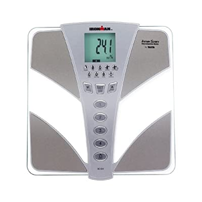 BC554 Tanita Ironman Glass InnerScan Body Composition Elite Series Monitor