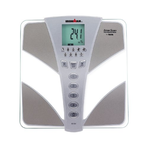 Tanita BC554 Ironman Glass InnerScan Body Composition Monitor Elite Series