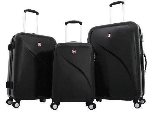 Trolley Koffer Set 3 tlg. - EVO - Schwarz von