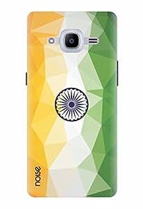 Noise Designer Printed Case / Cover for Samsung Galaxy J2 Pro - 6 (New 2016 Edition) / Patterns & Ethnic / Tiranga Design