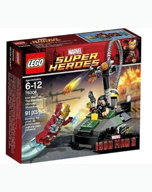 41dPEFi5G2L LEGO Super Heroes Iron Man vs. The Mandarin Ultimate Showdown (76008)