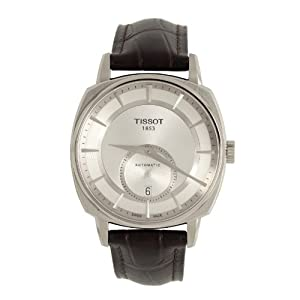 Tissot T0595281603100 Watch T Lord Mens - Silver Dial Stainless Steel Case Automatic Movement